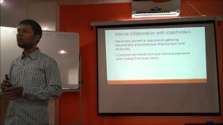 Roles and responsibilities of a Software Architect - Anand Gothe at SA Bangalore Meetup