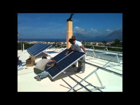 Energy-Greece Fotovoltaic panels installation 6