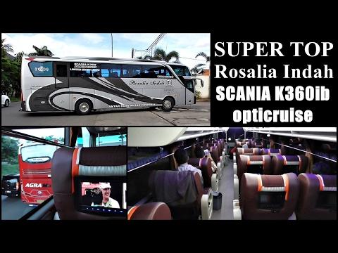 SUPER TOP Class Rosalia Indah | Ada Pramugarinya | Jakarta - Solo