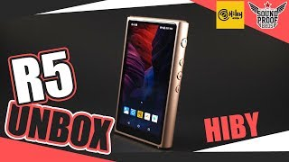 unbox Hiby R5 Hires Android DAP By Soundproofbros