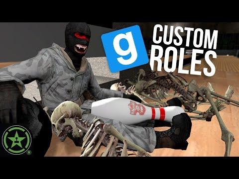 CUSTOM ROLES IN TTT - Gmod Gune: TTT (feat. Chef Mike) | Let's Play