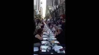 Really Really Long Table Dinner: City Palate Calgary Wave