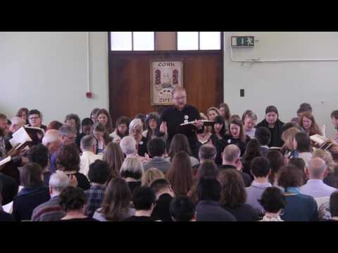 294 Rocky Road - The Seventh Ireland Sacred Harp Convention, 2017 (Sunday) HD
