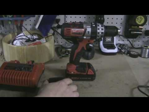 Milwaukee M18 Lithium Cordless Drill / Hammer Drill review