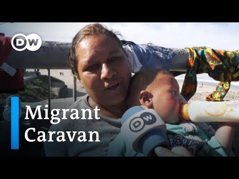 Caravan update: Thousands of migrants reach US border at Tijuana | DW News