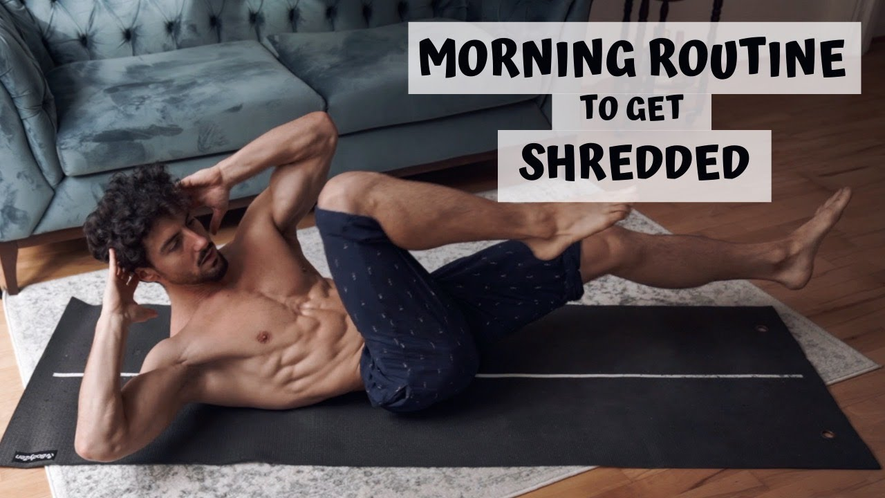 MORNING ROUTINE TO GET SHREDDED | Rowan Row