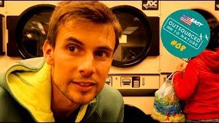 Wäsche waschen beim Camping | Green Mountains | Reise-Doku Vlog #08