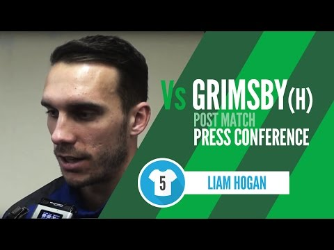 Post-Match Interview: Liam Hogan (Grimsby home)