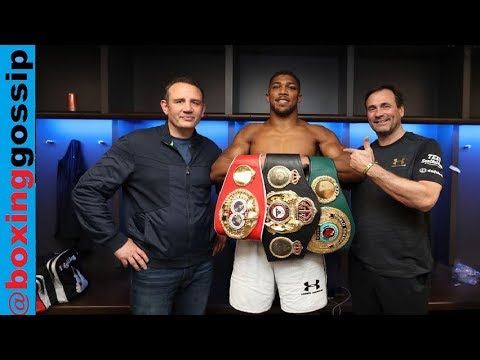 NEXT DAY THOUGHTS - Anthony Joshua Vs Takam & Rant on the PPV Bill