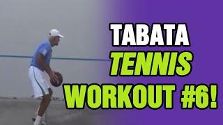 Tennis Lessons - Tabata Tennis Workout #6 | Tom Avery Tennis 239.592.5920