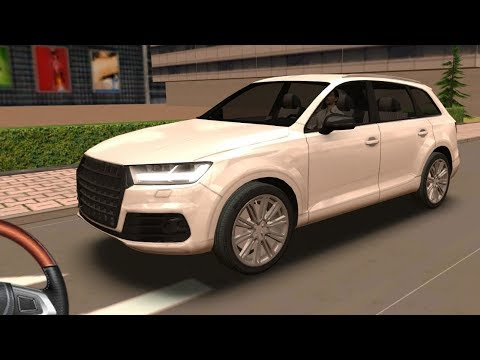Audi Q7 Driving School 2016, Audi Q7 with Steering Wheel, Car Driving Games Mobile GamePlay