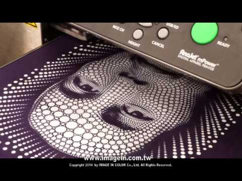 """b7a0174a AnaJet mPower DTG """"Direct to garment printer""""- Stamping Foil - YouTube"""