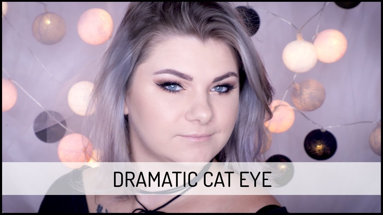 DRAMATIC CAT EYE Makeup Tutorial | DOMODI TV