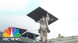 Batteries Used To Store Personal Solar Energy Expected To Double In 2021 | NBC News NOW