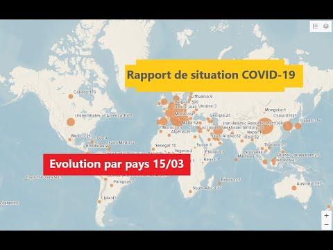 Rapports De Situation Sur La Maladie à Coronavirus | Coronavirus Disease (COVID-2019) Situation