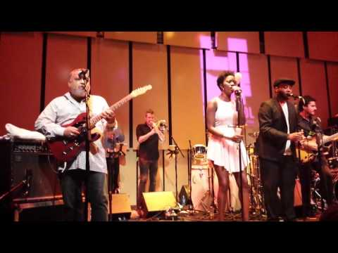 Incognito with carleen Anderson at Liverpool philharmonic music rooms 21st July 2016
