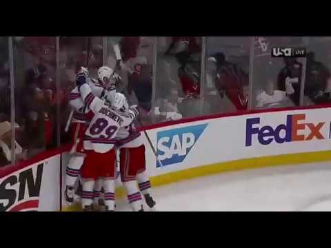 Kenny Albert Call - Mika Zibanejad Game 5 OT Winner in Montreal 4/20/17