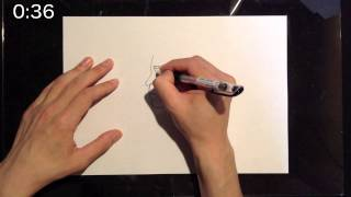 """I draw a picture in 1 minute. Today's theme is """"Masatoshi Hamada"""". ..."""