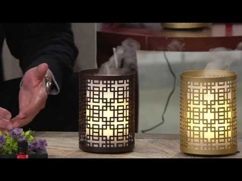 revitaspa-aromatherapy-essential-oil-diffuser-&-flamelesscandle-on-qvc