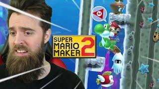 Epic Friday Gamer Stream [SUPER MARIO MAKER 2]
