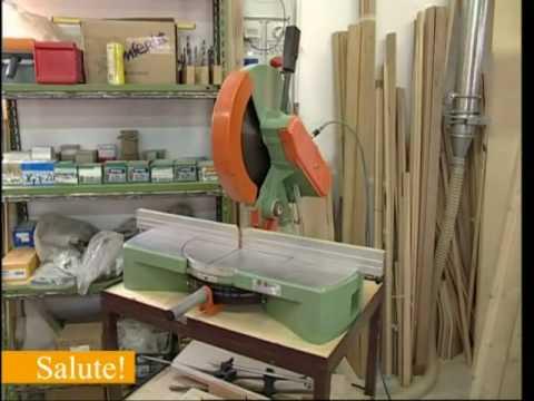 Lavorazione del legno doovi for Banco fresa autocostruito