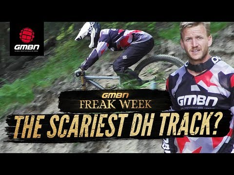 Is This The Scariest Mountain Bike Race Track? | Blake Rides Champéry
