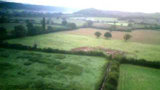 Dulcote Somerset drone video