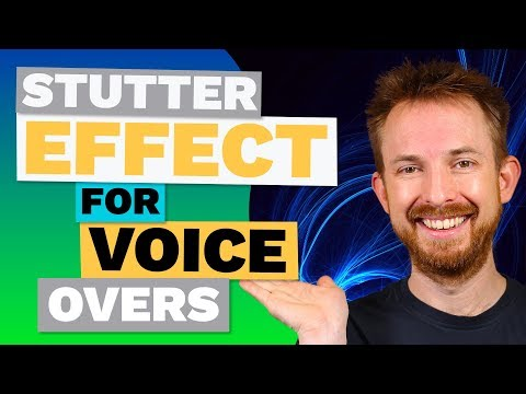 Stutter Effect for Voice Overs