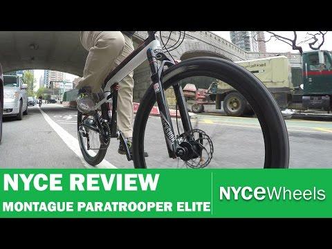 Montague Paratrooper Elite - High End Folding Hardtail Mountain Bike Review