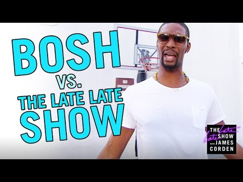 Chris Bosh vs. The Late Late Show Staff