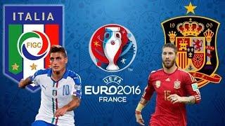 Itália x Espanha (27/06/2016) OITAVAS DE FINAL DA EUROCOPA 2016 [PES 2016]