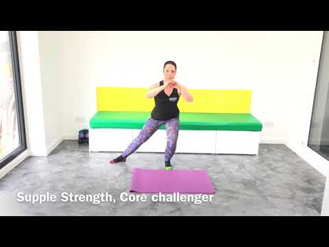 Supple Strength, core challenger workout