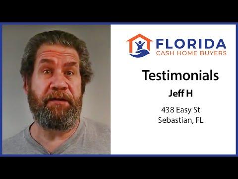 Florida Cash Home Buyers - Testimonial - Jeff