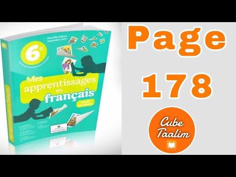 Grammaire P 178 Evaluation Et Consolidation Corrige Des Exercices