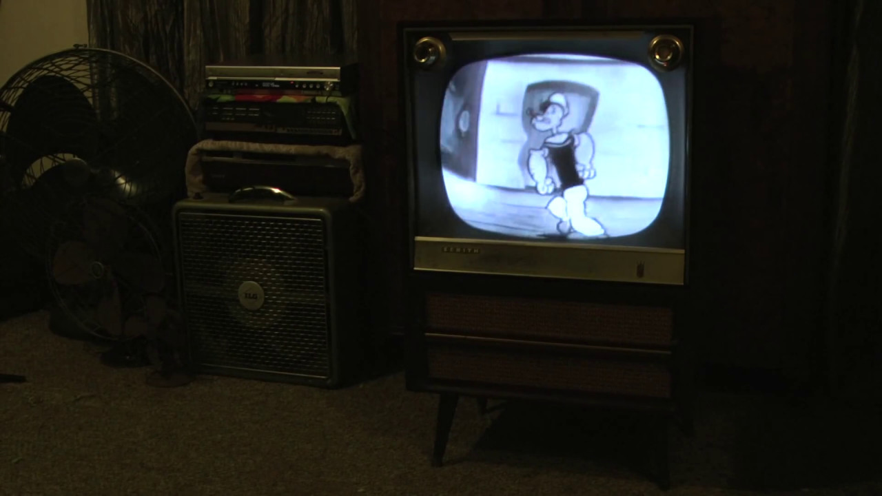 1958 Zenith 82245R B&W Console TV