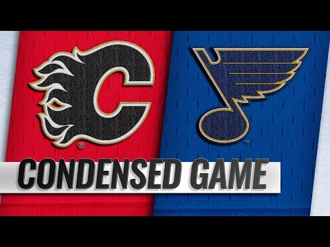 10/11/18 Condensed Game: Flames @ Blues