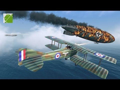 Warplanes WW1 Sky Aces - Android Gameplay FHD