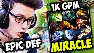 Miracle Luna Vs Epic Try Hard Def Team | 9 Slot Item And 1k Gpm Wasn't Enough