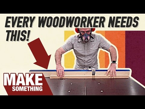 How to Make a Tablesaw Crosscut Sled | Woodworking Project