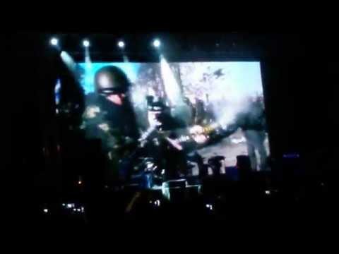 Portishead - Machine Gun Live Istanbul Küçükçiftlik Park 20-08-2014
