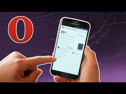 Ahorra datos con Opera Mini