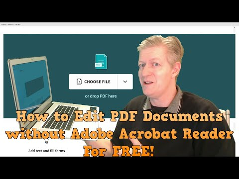 Edit PDF Documents For Free Without Adobe Acrobat Reader, Works On Chromebooks, Win PCs, And Macs.