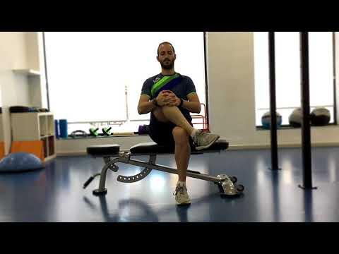Flexibilidad rotadores de cadera sentado
