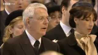 The Funeral of Baroness Thatcher To Be a Pilgrim John Bunyan arr Ralph Vaughan Williams