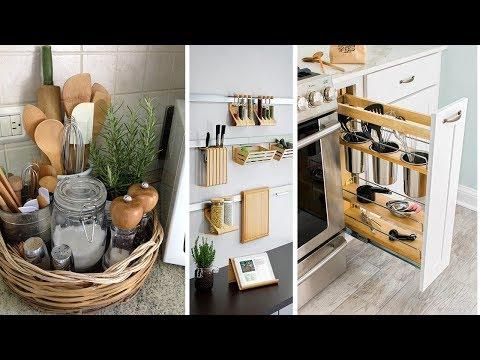 11 Storage Ideas For A Small Kitchen Organization