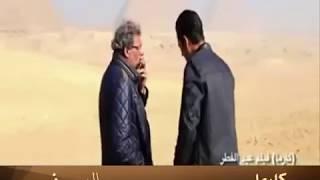 المخرج خالد يوسف في كواليس فيلم كارما