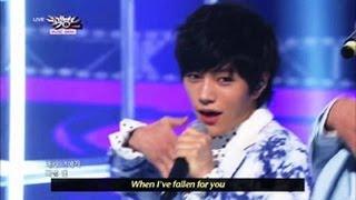 [Music Bank w/ Eng Lyrics] INFINITE - Man In Love (2013.04.20)