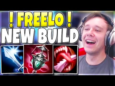 New Weird Build Makes This Champion SUPER OP Now (FREELO) - League Of Legends