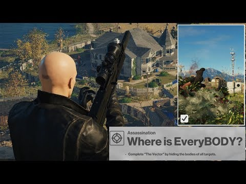 HITMAN New Mission The Vector Colorado Where is EveryBODY Patient Zero