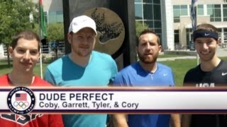 Trick Shots: Dude Perfect at the Olympic Training Center